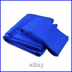 Speed Pool Cloth, 7 x 4 Bed & Cushions, Blue