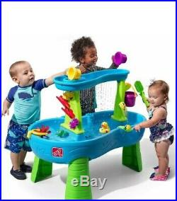 Step2 Rain Showers Splash Pond Water Table With 13pc Accessory Set Kids Playset