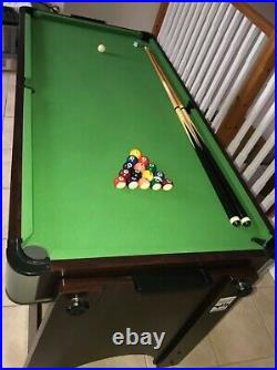 Superior Games Table 2 in 1 air hockey and pool table and table tennis accessory
