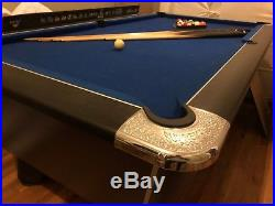 Supreme 6ft Slate Bed Pool Table and Accessories