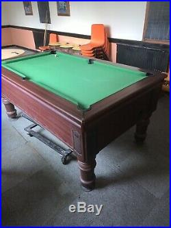 Supreme Prince Pool Table (6x3) Good Condition With Accessories