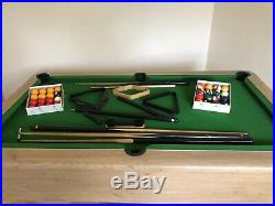 Supreme Winner 6ft pool table & Accessories All In Great Condition