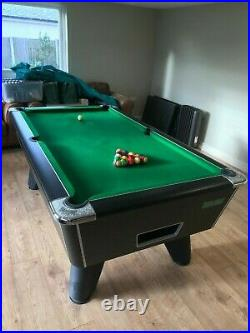 Supreme Winner 7ft x 4ft Championship Pool Table Free Play Green + Accessories