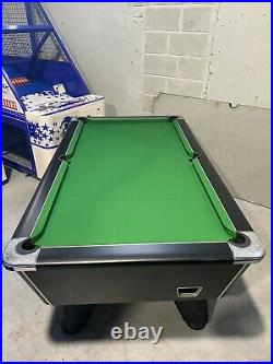 Supreme Winner! Mint! Refurbed 7ft Slate Bed Table! Incs All New Accessories