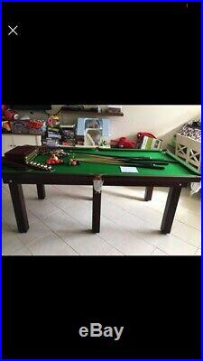 Thorpe Deluxe Rosewood Snooker/pool Table