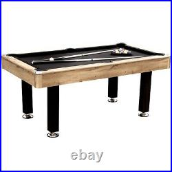 Ultimate American Pool Table 6ft With Accessories Custom Black Cloth Uk Seller