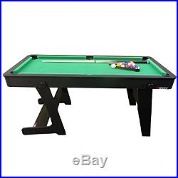 Viavito PT100X 5ft Folding Billard Pool Table with Accessories