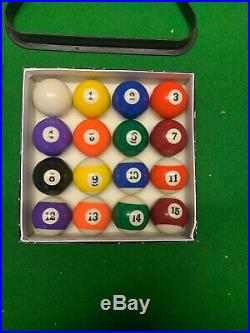 Viavito PT200 6ft Automatic Return Pool Table With Accessories