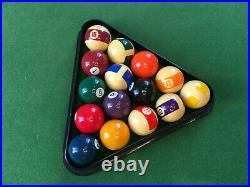 Vintage Slate Bed Snooker/Pool Table 6ft x 3ft with accessories