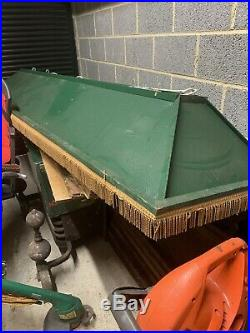 Vintage Snooker/Pool Table Hanging Canopy Light