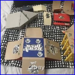 Vintage Tech Deck lot ramps, skateboards, tools & accessories see pics Pool Table