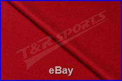 Wine Double-sided Wool Pool Snooker Table Top Cloth Felt for 7''/8'' UK